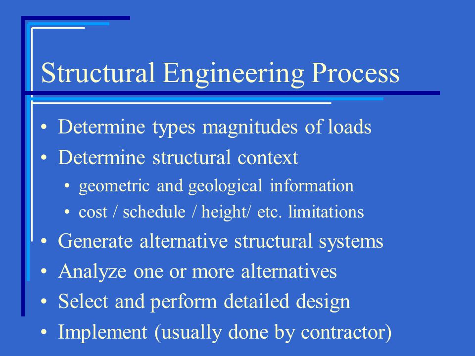 Structural Engineering Process