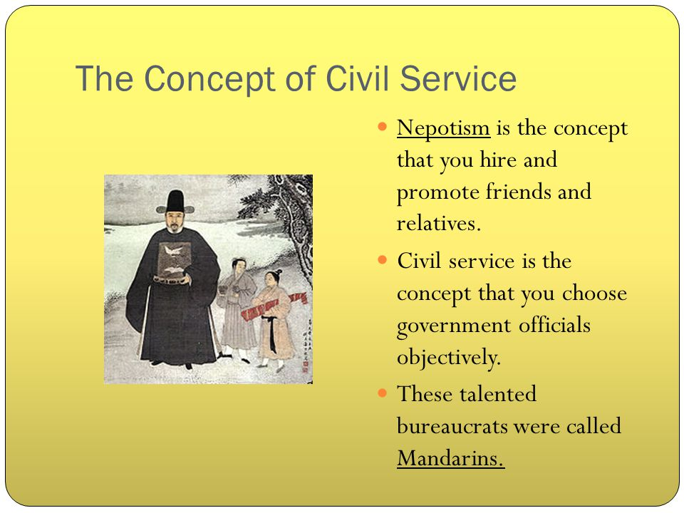 The Concept of Civil Service
