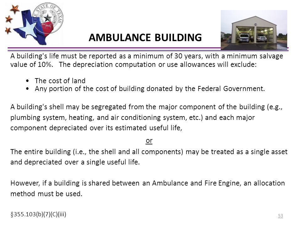 AMBULANCE BUILDING