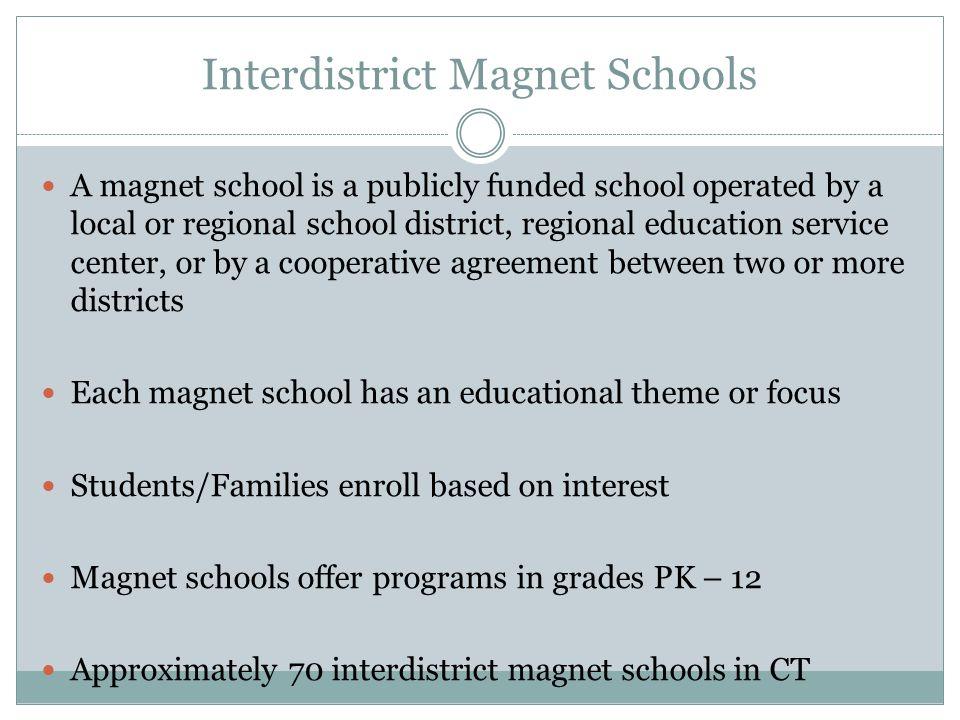 Interdistrict Magnet Schools
