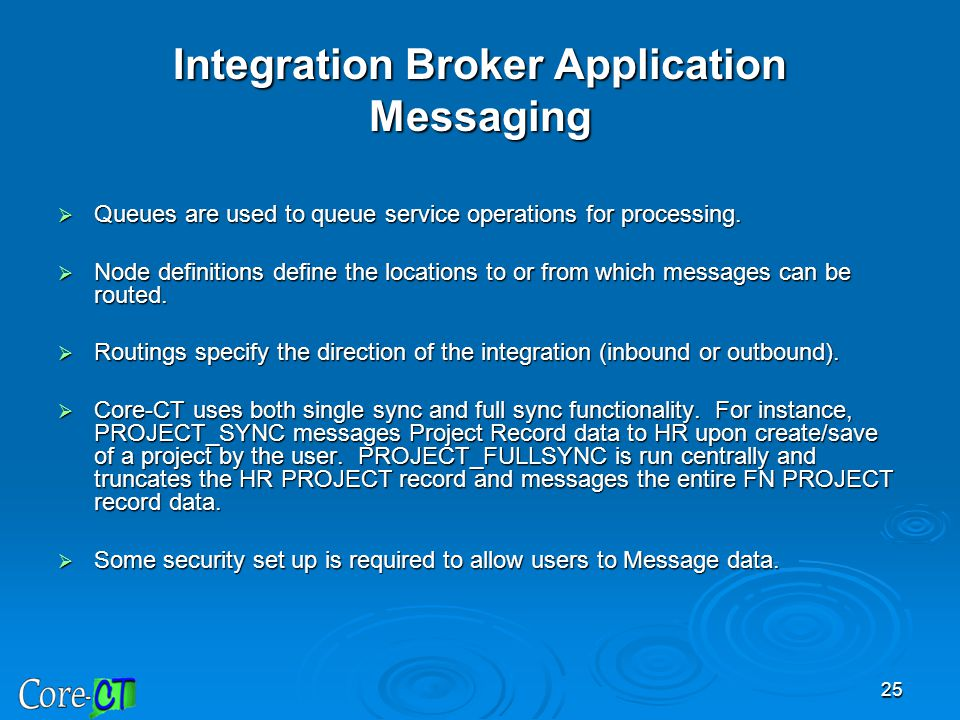 Integration Broker Application Messaging