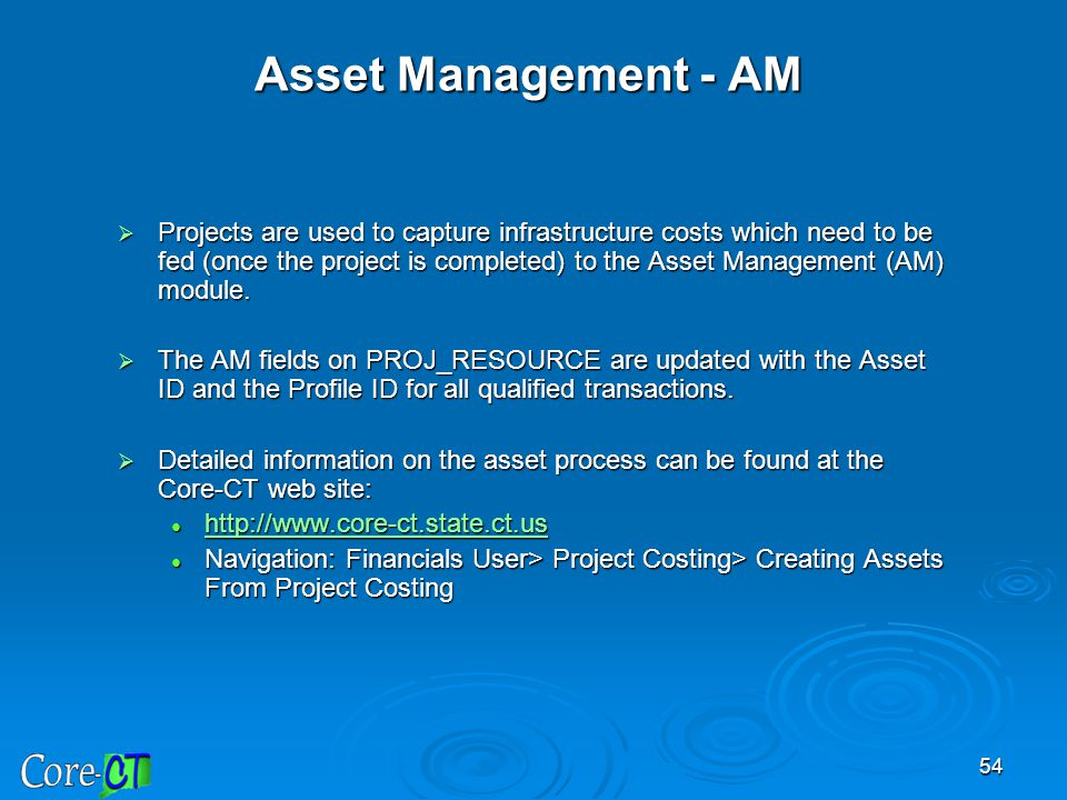 Asset Management - AM