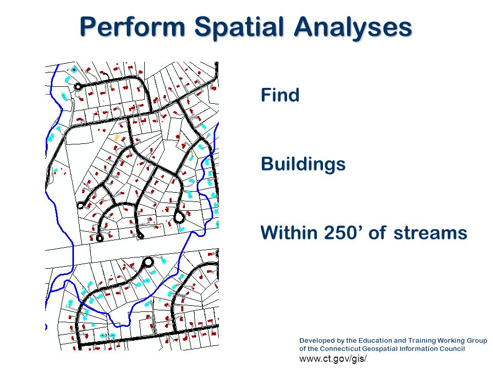 Perform Spatial Analyses