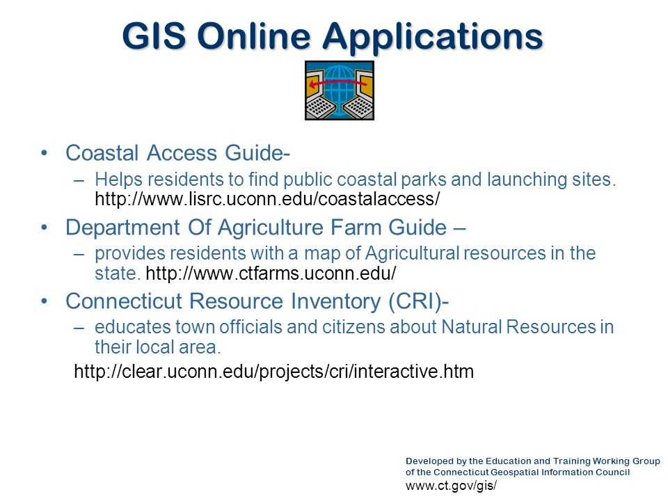 GIS Online Applications