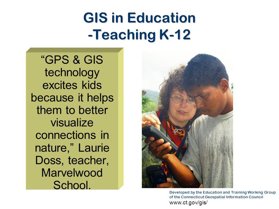 GIS in Education -Teaching K-12