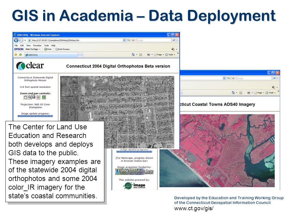 GIS in Academia – Data Deployment