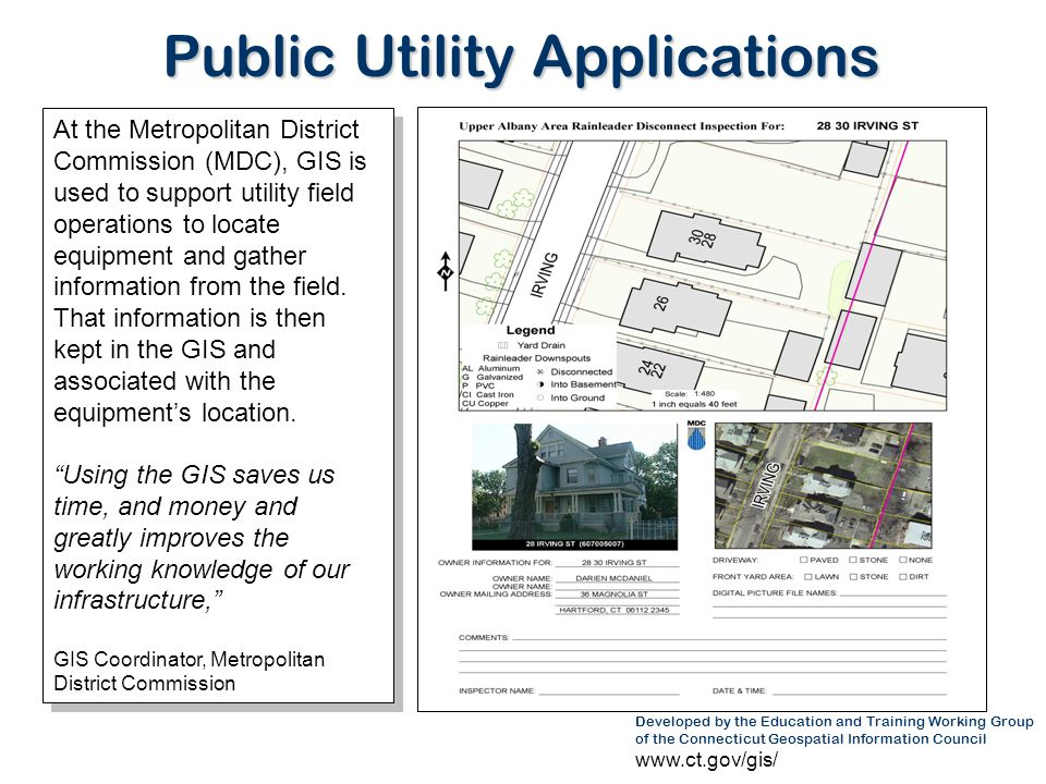Public Utility Applications