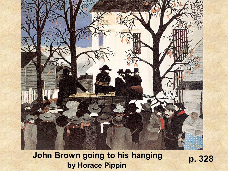 John Brown going to his hanging