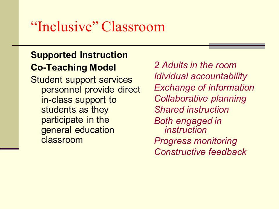 Inclusive Classroom