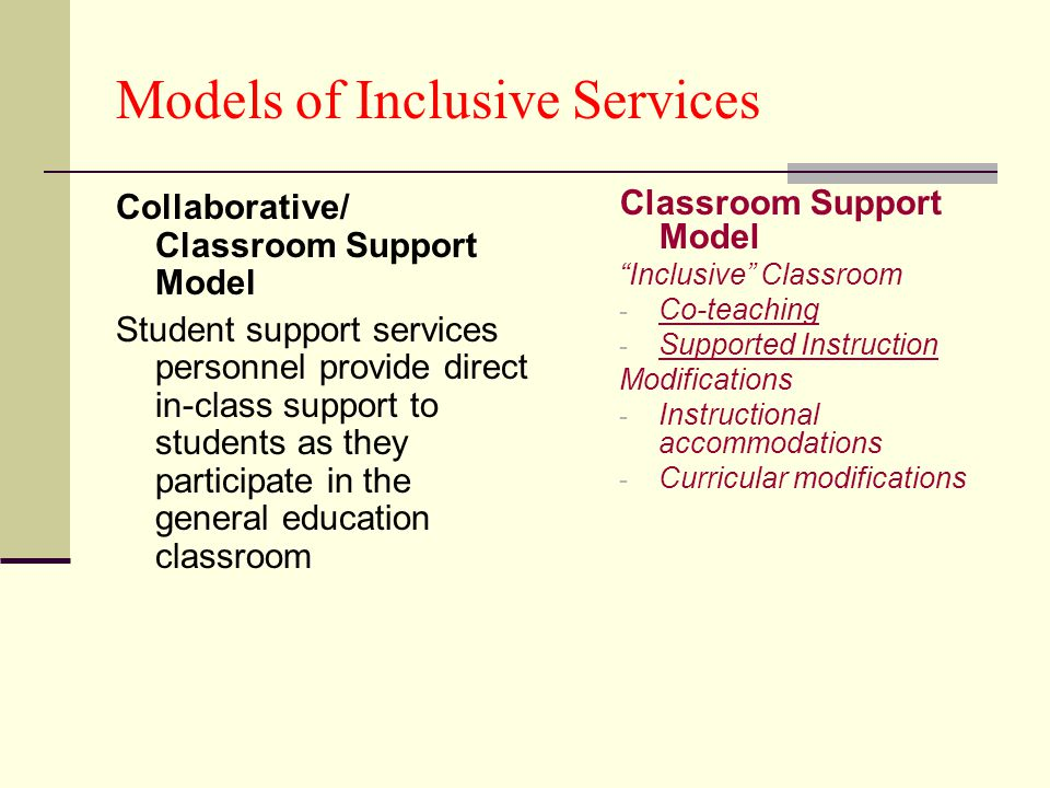 Collaborative Teaching Strategies Inclusion Classroom ~ Rock hill school district ppt download