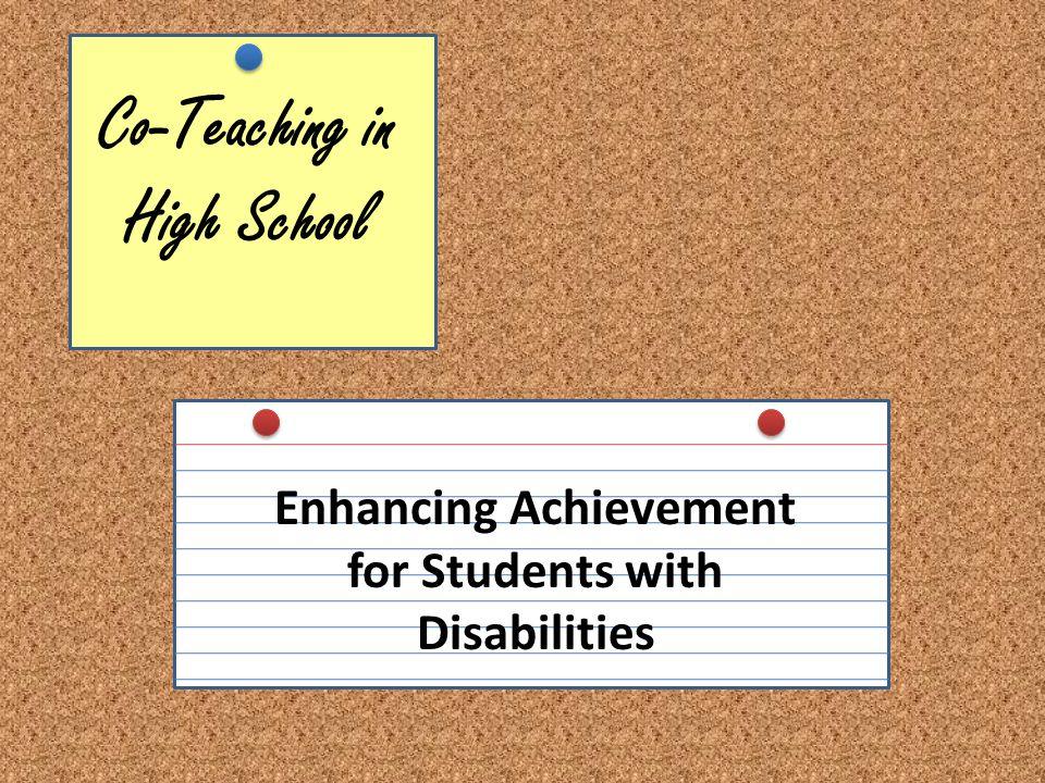 Co-Teaching in High School