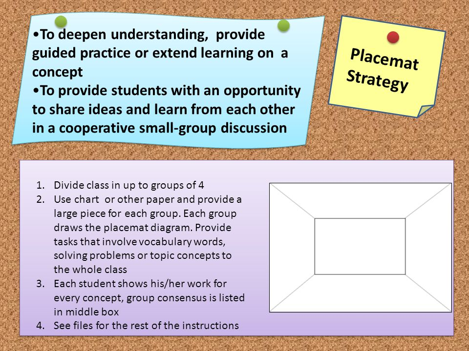 To deepen understanding, provide guided practice or extend learning on a concept