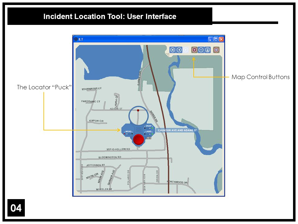 Incident Location Tool: User Interface