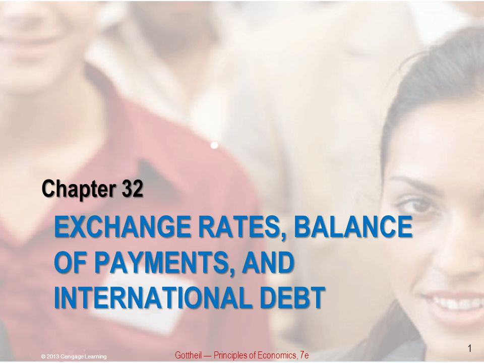 Exchange Rates, Balance of Payments, and International Debt