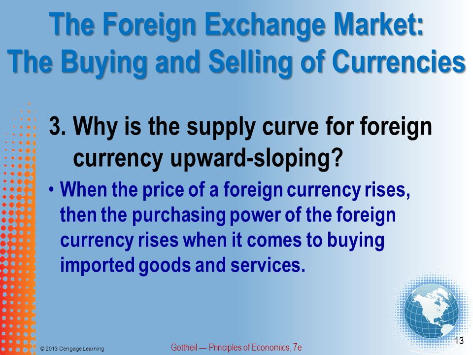 The Foreign Exchange Market: The Buying and Selling of Currencies