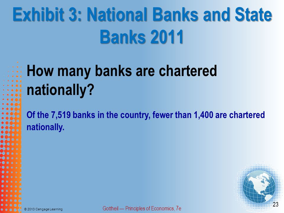Exhibit 3: National Banks and State Banks 2011