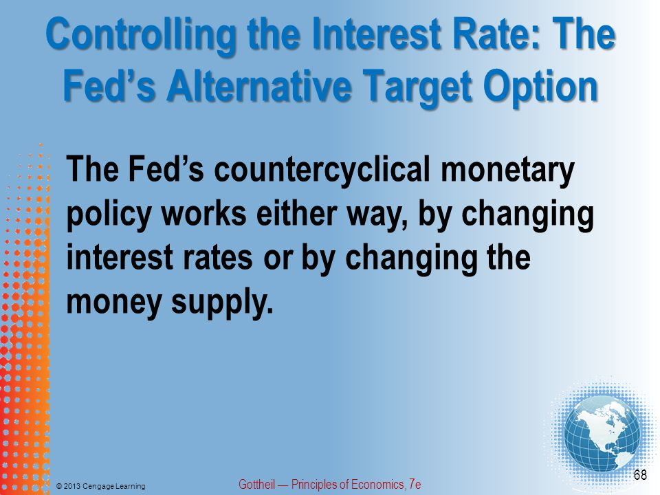 Controlling the Interest Rate: The Fed's Alternative Target Option