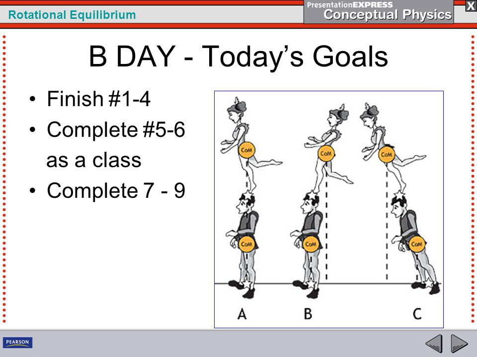 B DAY - Today's Goals Finish #1-4 Complete #5-6 as a class