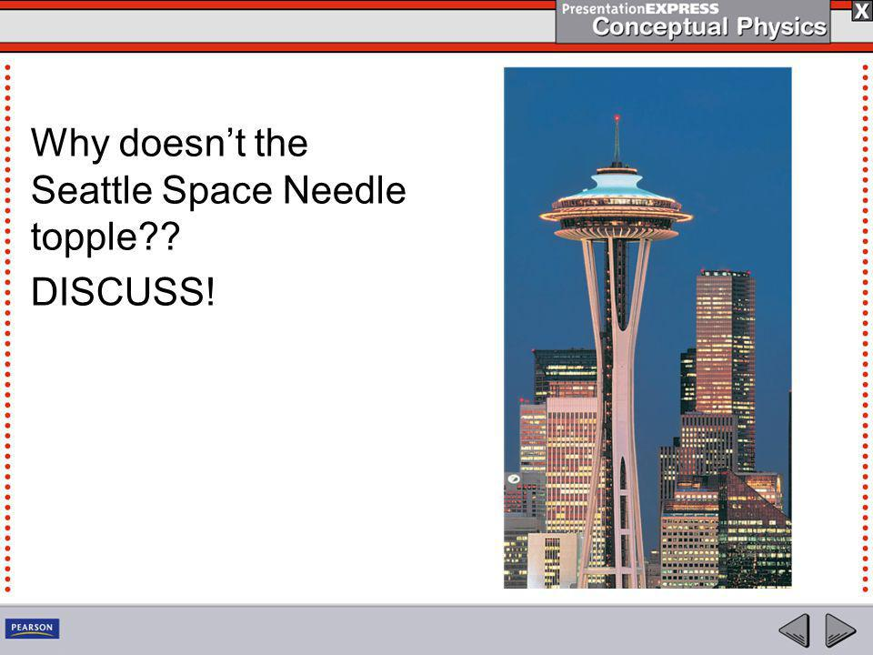 Why doesn't the Seattle Space Needle topple