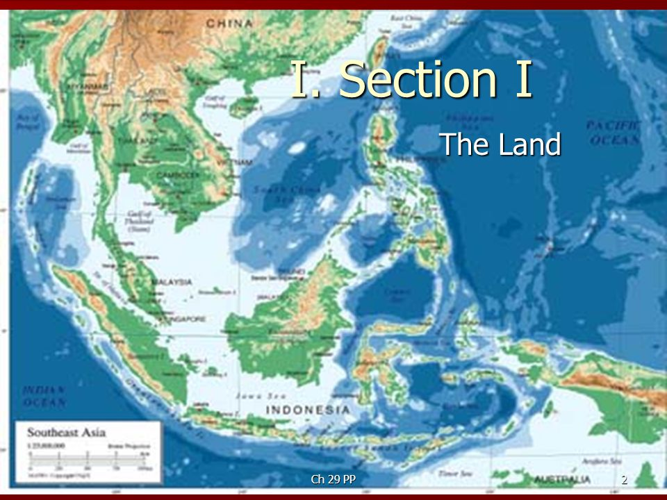 I. Section I The Land Ch 29 PP