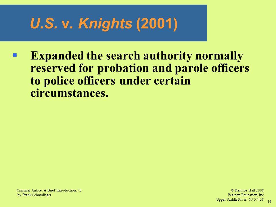 U.S. v. Knights (2001)
