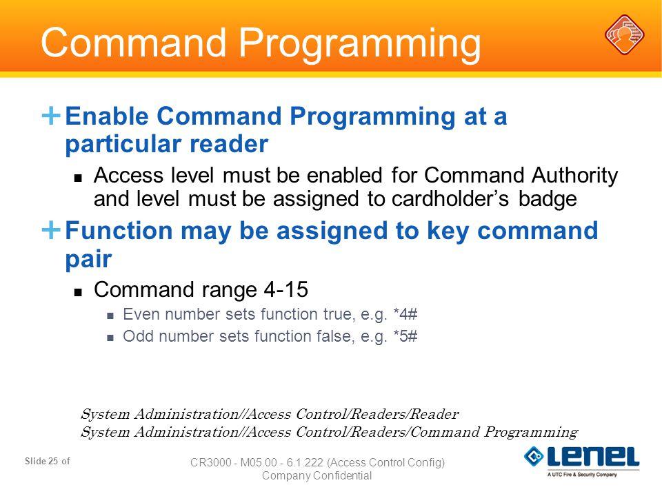 CR3000 - M05.00 - 6.1.222 (Access Control Config)