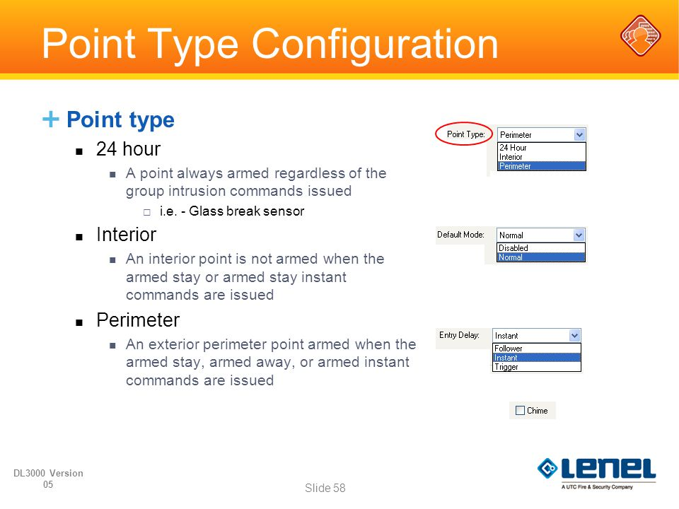 Point Type Configuration