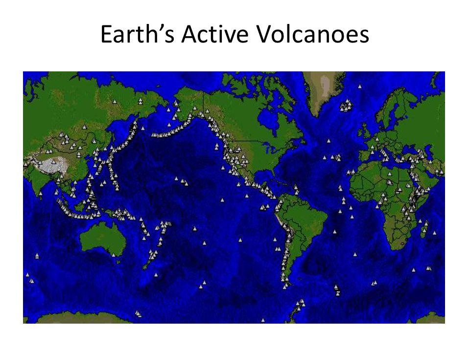 Earth's Active Volcanoes