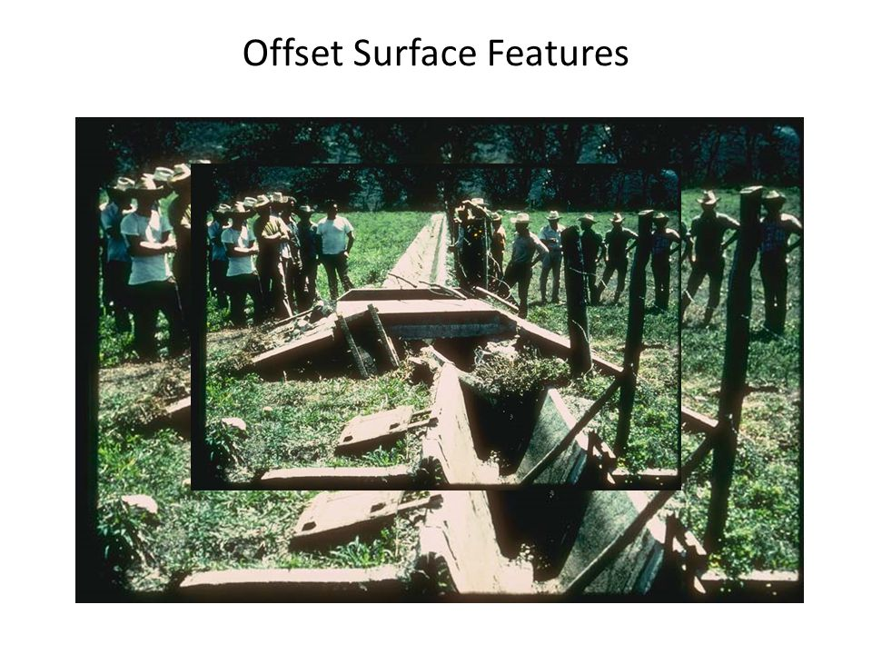 Offset Surface Features
