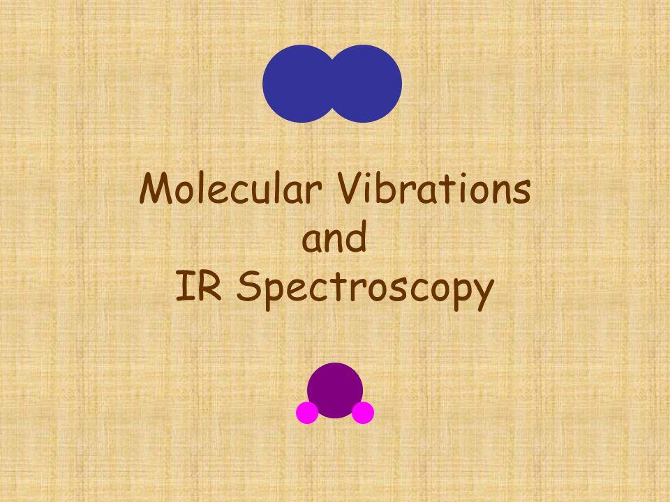 Molecular Vibrations and IR Spectroscopy
