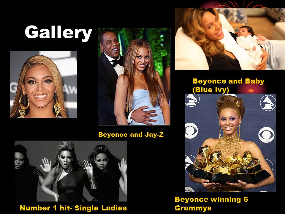Gallery Beyonce and Baby (Blue Ivy) Beyonce winning 6 Grammys