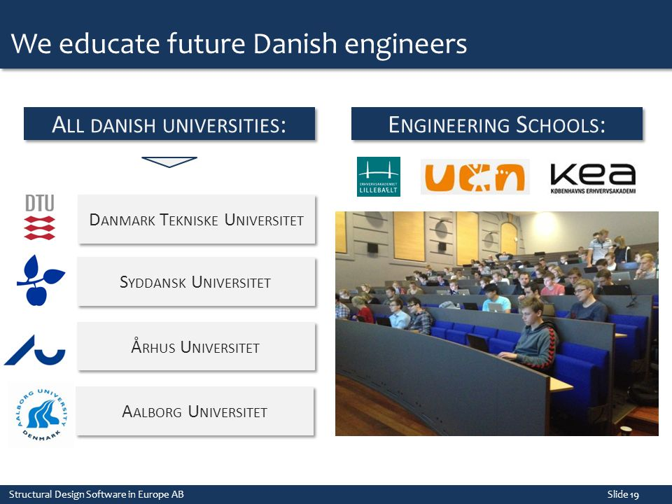 We educate future Danish engineers