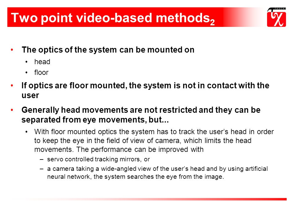 Two point video-based methods2