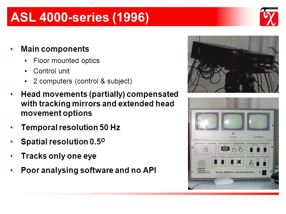 ASL 4000-series (1996) Main components