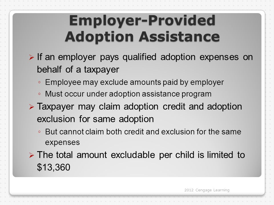 Employer-Provided Adoption Assistance