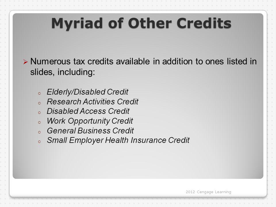 Myriad of Other Credits