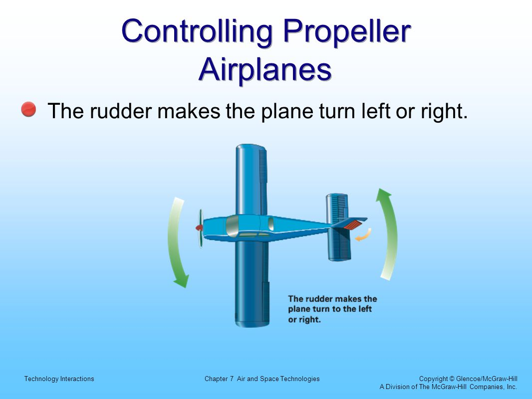 Controlling Propeller Airplanes