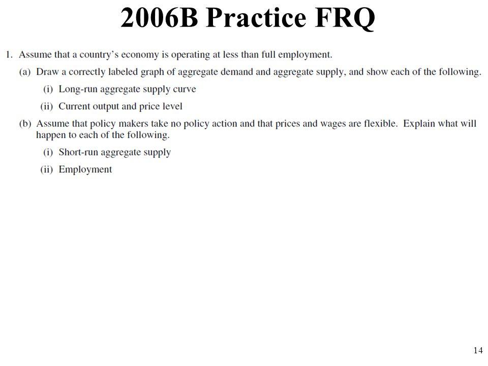 2006B Practice FRQ 14
