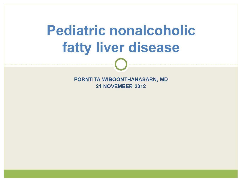 Pediatric nonalcoholic fatty liver disease