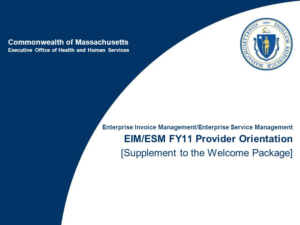 FY11 Provider Implementation - What to Expect
