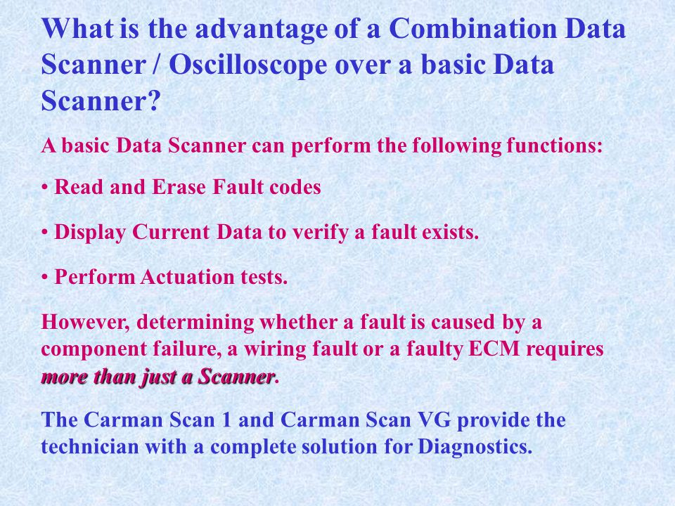 What is the advantage of a Combination Data