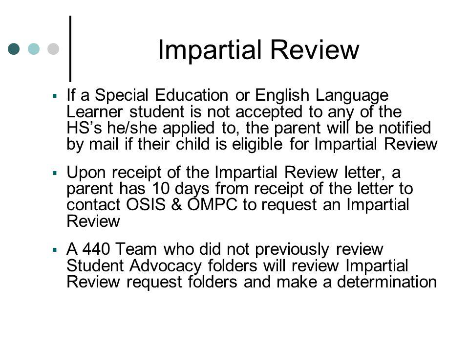 Impartial Review