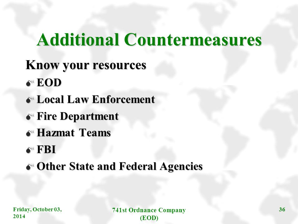 Additional Countermeasures