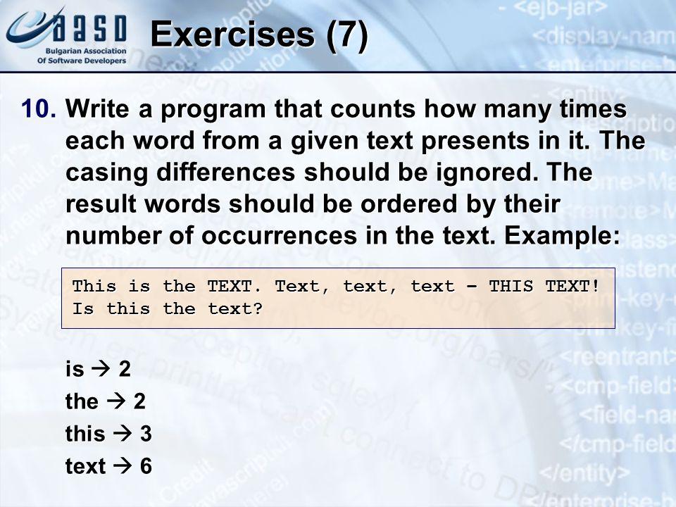 * 3/25/201707/16/96. Exercises (7)