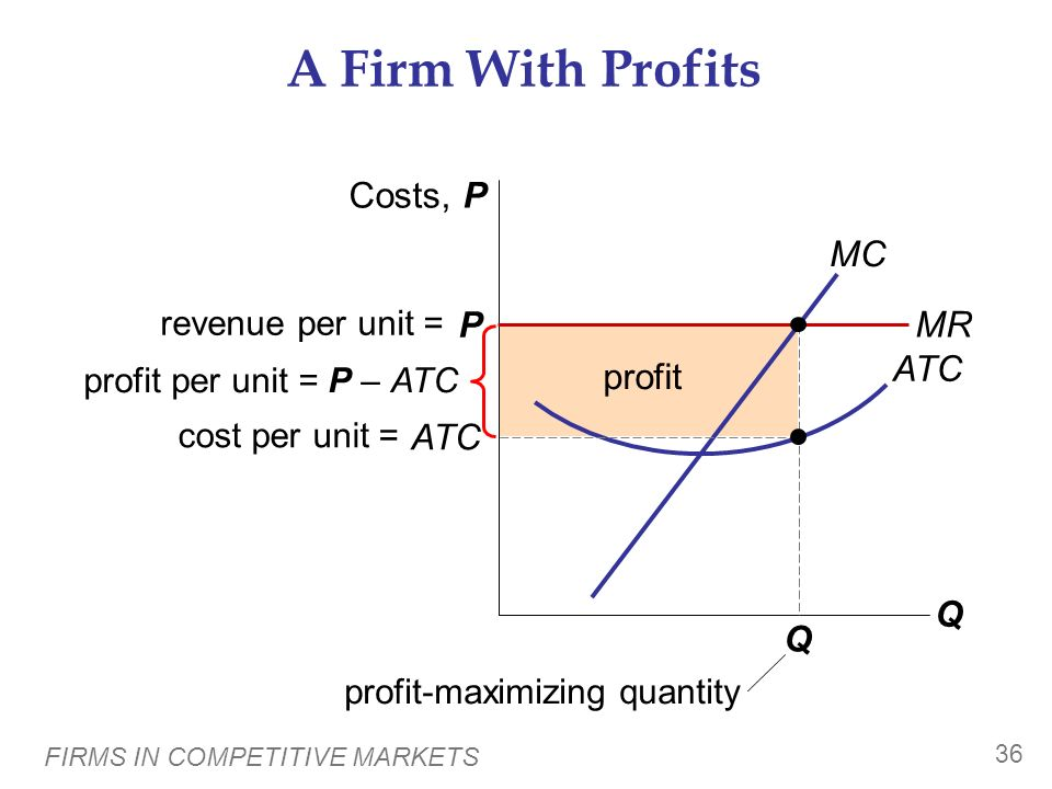 profit-maximizing quantity
