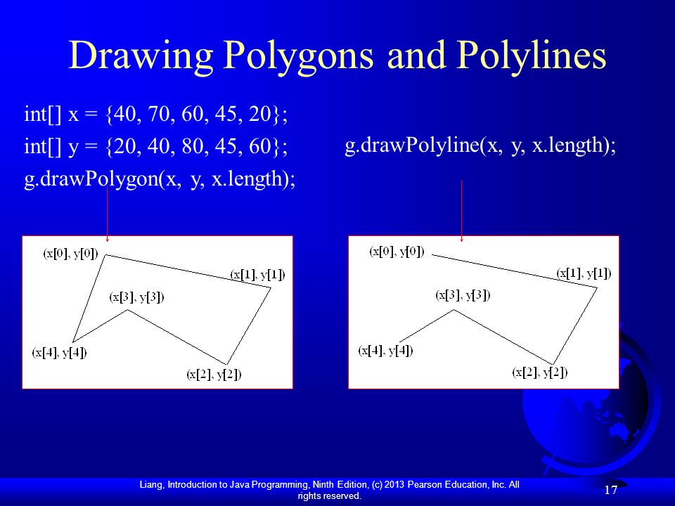 Drawing Polygons and Polylines