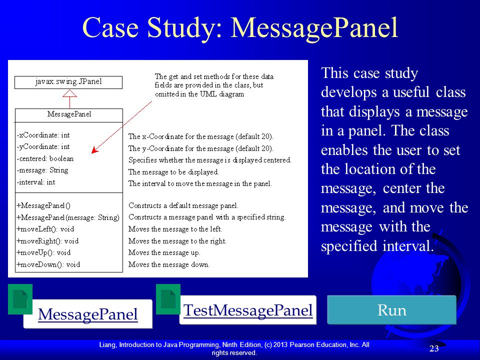 Case Study: MessagePanel