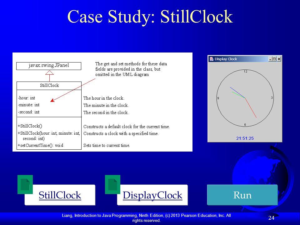 Case Study: StillClock