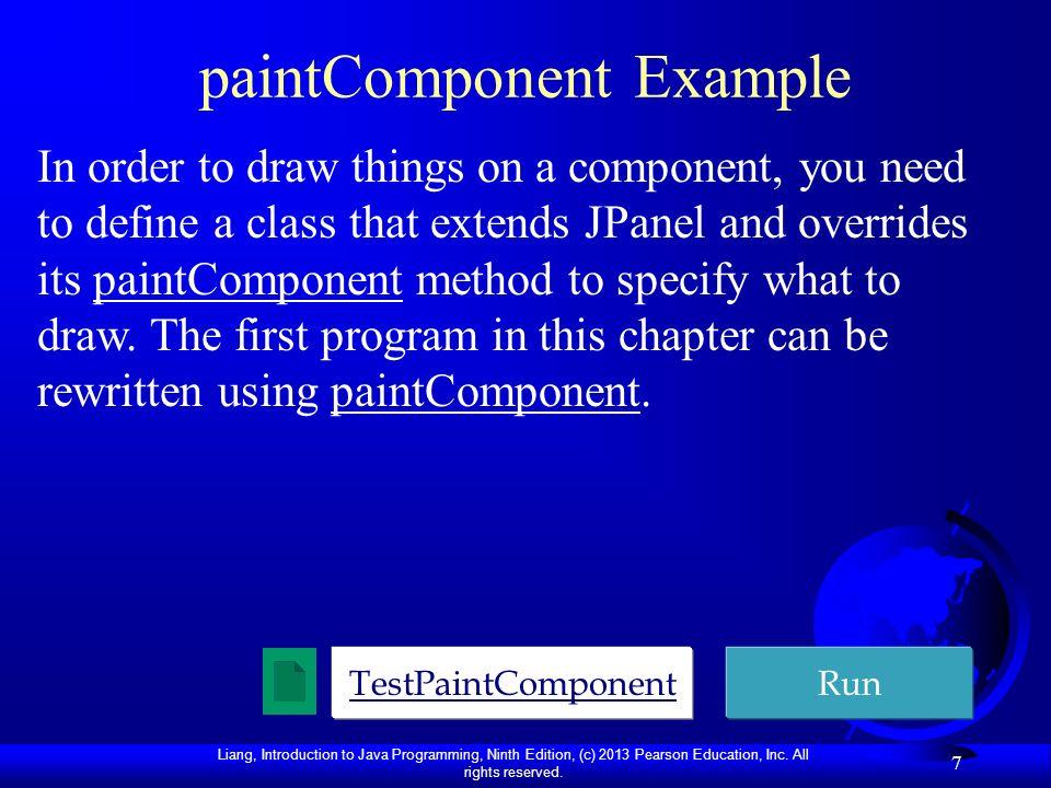 paintComponent Example