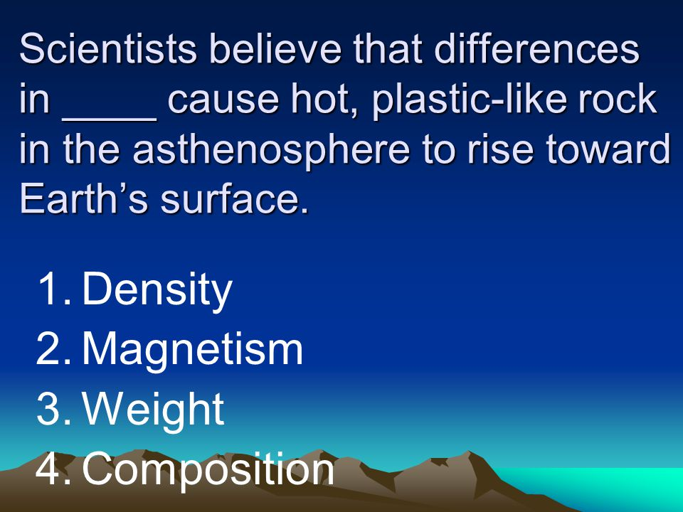 Density Magnetism Weight Composition